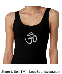 Ladies OM Symbol Tank black Design Zoom