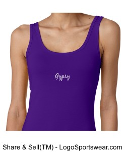 Ladies Gypsy Tank purple Design Zoom